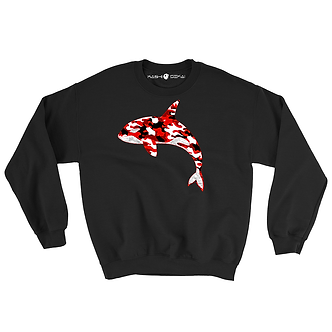 Single Killer Whale Sweatshirt
