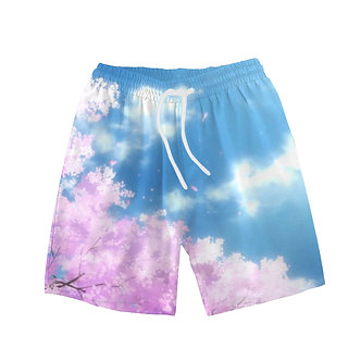 """Sakura Bloom"" Comfort Shorts"
