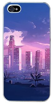 City Limits Phone Case Vaporwave