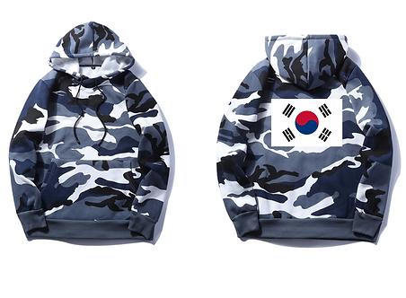 Korean Snow Camo Comfort Hoodie