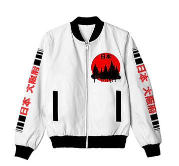 """Nihon Osaka"" Slim fit Bomber Jacket"