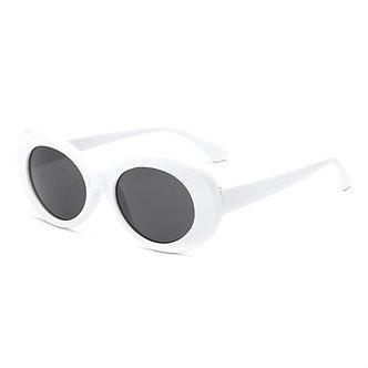 High Fashion Oval Shaped Goggle Glasses