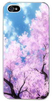 Sakura Bloom Aesthetic Phone Case Vaporwave