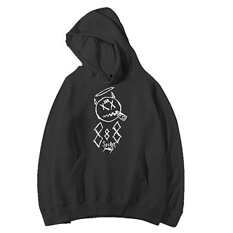 888 Society Graphic Hoodie