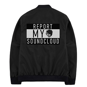'Report My Soundcloud' Windbreaker Jacket