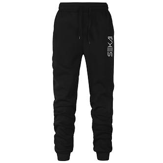 """Black """"Sekai"""" Logo Comfort Joggers"""