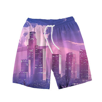"""Vapor City"" Comfort Shorts"