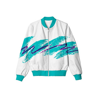 """Jazzwave"" Allover Print Jacket"