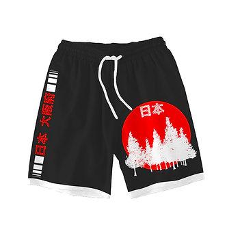 """Nihon Osaka"" Comfort Shorts"