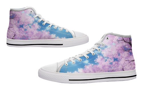 Morning Bloom Casual Canvas Shoes