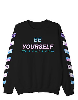 """""""Be Yourself"""" Pullover Crewneck Shirt"""