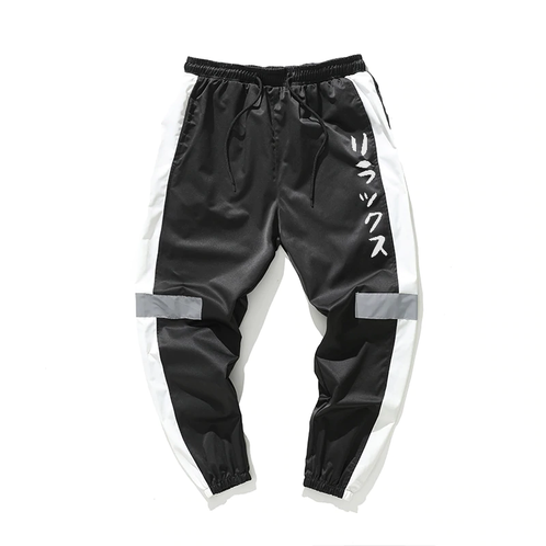 3c7d75d8 Kashisekai 'Relax' Double Striped Jogger Pants
