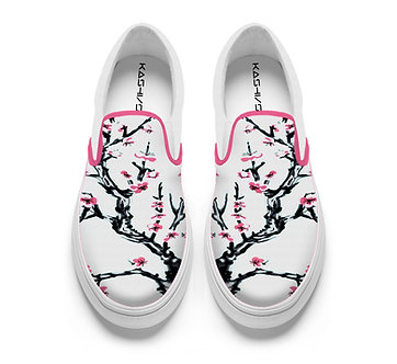 """Floralwave"" Slip-on Shoes"