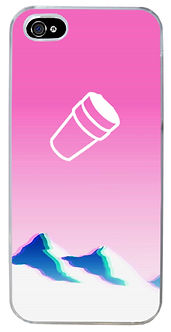 Vapor Styled Double Cup Phone Case