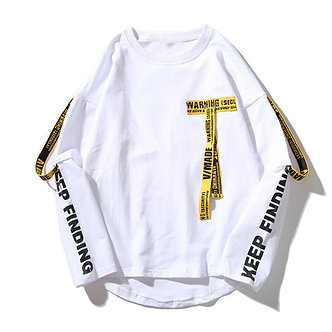 White Keep Finding Hype Styled Streetwear