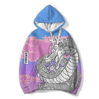 Shen Dragon Allover Print Hoodie Vaporwave Clothing