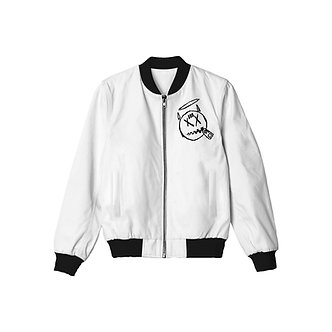 888 Society Slim Fit Bomber Jacket