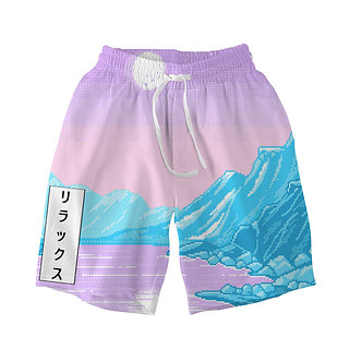 """Mystic Lake"" Comfort Shorts"