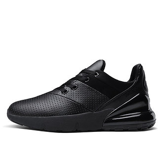 Black Comfort Sports Running Shoes