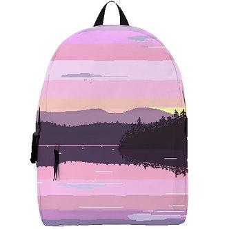 """Lake of The Horizon"" Backpack"