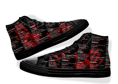 "Alternative Style ""Murder In My Head"" Shoes"