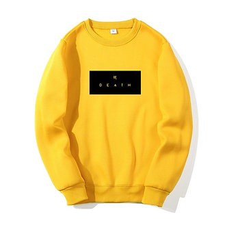 Yellow Chinese Death Pullover