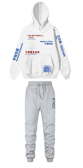 """""""Made In China"""" Hoodie & Joggers Bundle"""