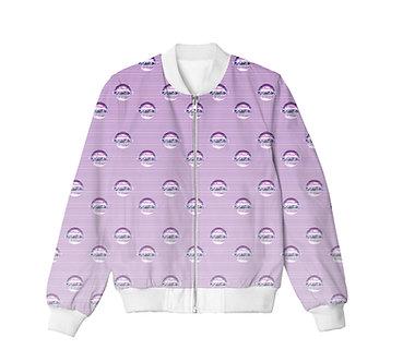 """THE INTERNET"" Allover Print Jacket"