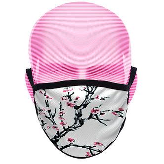 """""""Floralwave"""" Face Mask"""