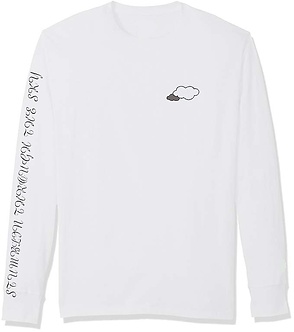 Embroidery Cloud Long Sleeved Tee