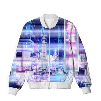 Vaporwave Bomber Jacket Clothing Tokyo Lights