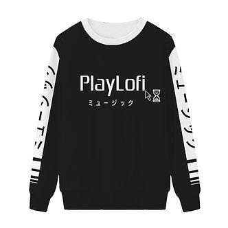 """PlayLofi"" Pullover Sweatshirt"