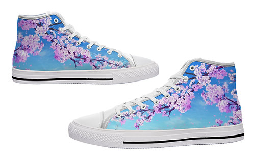 Sakura Bloom Casual Canvas Shoes