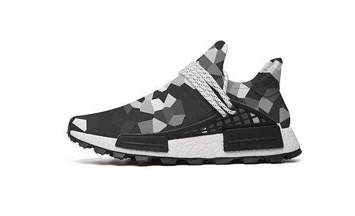 Black & White Sports Shoes
