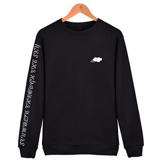 Embroidery Cloud Sweatshirt