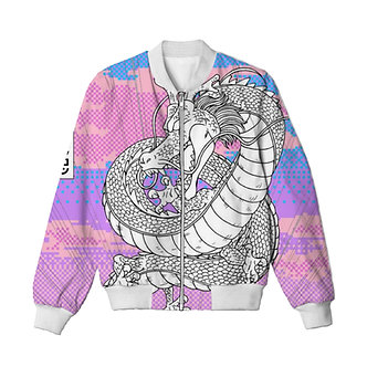 Shen Dragon LightweightBomber Jacket