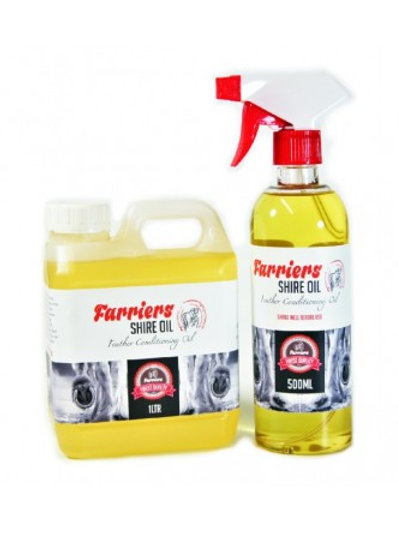 Farriers Shire Oil 1000ml refill