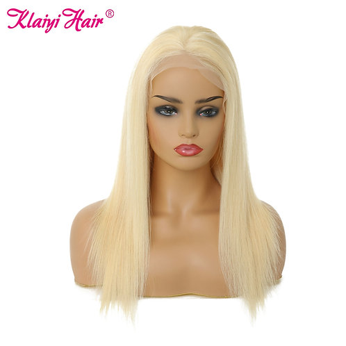 Pre Plucked 13x4 Lace Front Remy Human Hair Wigs Straight 150%/180% Density