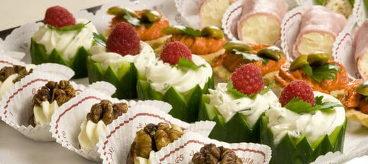 Canapes & Buffets