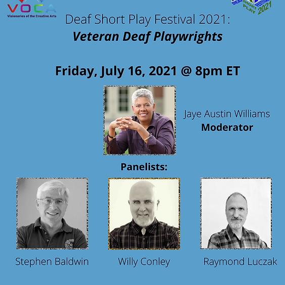 Veteran Deaf Playwrights