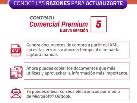 NOVEDADES CONTPAQi COMERCIAL PREMIUM Versión 5