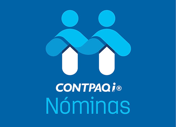 CONTPAQi®  NOMINAS MULTIRFC 1 usuario