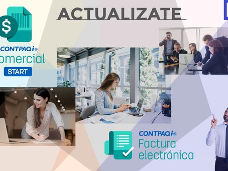 CONTINUIDAD DE TIMBRADO CONTPAQi® Comercial Start y CONTPAQi® Factura electrónica