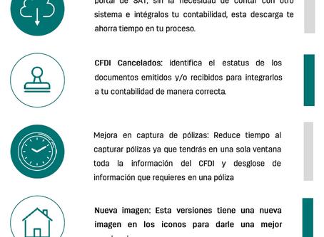 Conoce las características de la versión 13 de CONTPAQi® Contabilidad