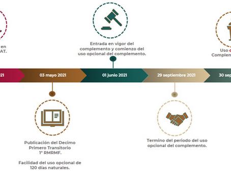 Qué información se integra en el complemento Carta Porte