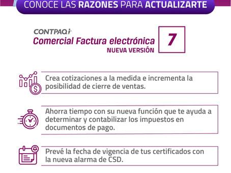 CONOCE ALGUNAS NOVEDADES EN CONTPAQi FACTURA ELECTRÓNICA, ACTUALIZA EN JUNIO YA!!