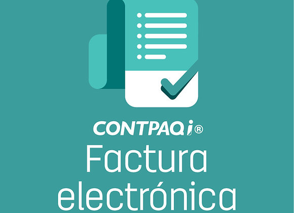 CONTPAQi® FACTURA ELECTRONICA