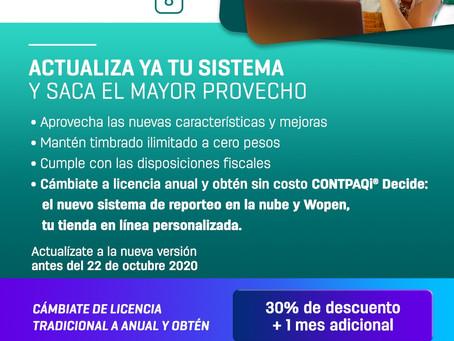 CONTINUIDAD DE TIMBRADO EN CONTPAQi FACTURA ELECTRONICA