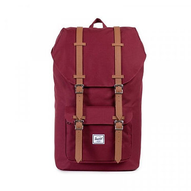 LITTLE AMERICA WINDSOR WINE TAN SYNTHETIC LEATHER