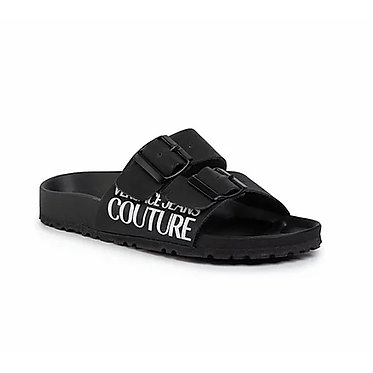 Versace Jeans Couture – Sliders | Black